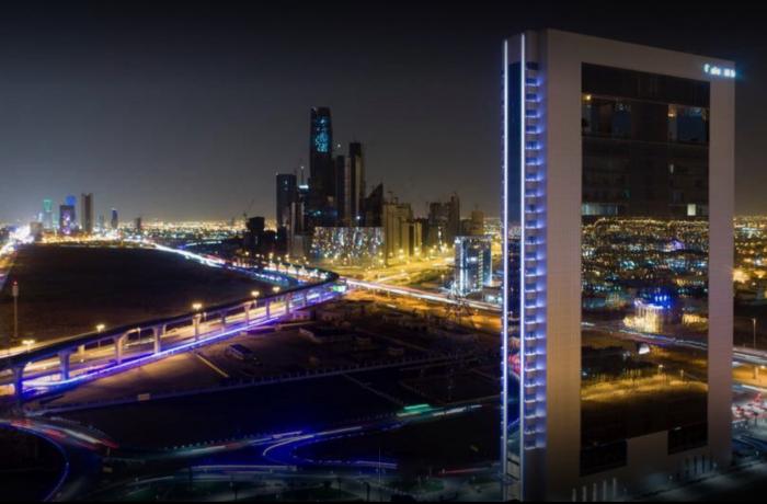 Al Nakhlah Facade Lighting